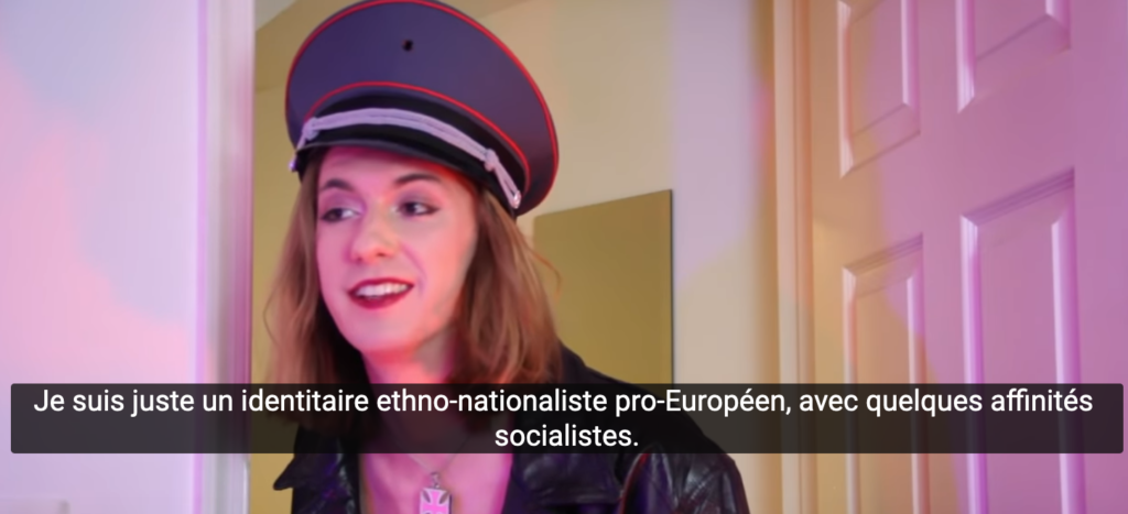 """""""Attendez une seconde : êtes-vous nazie ?"""""""